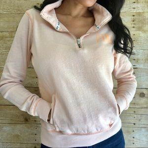 PINK Victoria's Secret 1/4 Zip Sweater